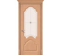 Дверь Афина Ф-01 Дуб Худ. Браво, Bravo +петли