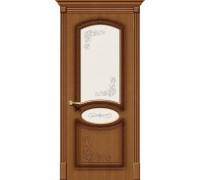 Дверь Азалия Ф-11 Орех Худ. Браво, Bravo +петли