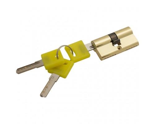 Цилиндр для замка Bravo ZK-60-30/30 G Золото