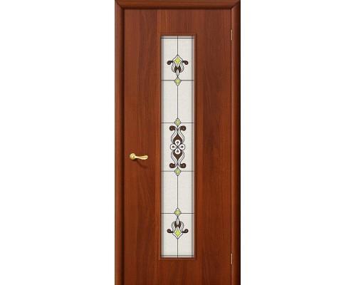 Дверь 23Х Л-11 ИталОрех Сатинато Браво, Bravo +петли