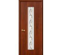 Дверь 24Х Л-11 ИталОрех Сатинато Браво, Bravo +петли