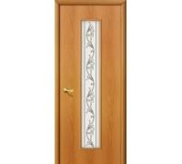 Дверь 24Х Л-12 МиланОрех Сатинато Браво, Bravo +петли