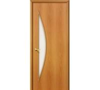 Дверь 5С Л-12 МиланОрех Сатинато Браво, Bravo +петли