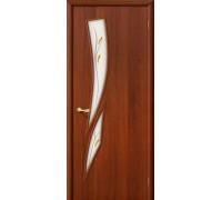 Дверь 8Ф Л-11 ИталОрех Фьюзинг Браво, Bravo +петли