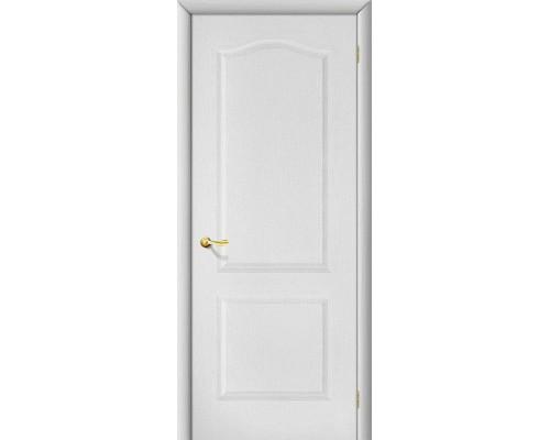 Дверь Палитра Л-23 Белый Браво, Bravo +петли