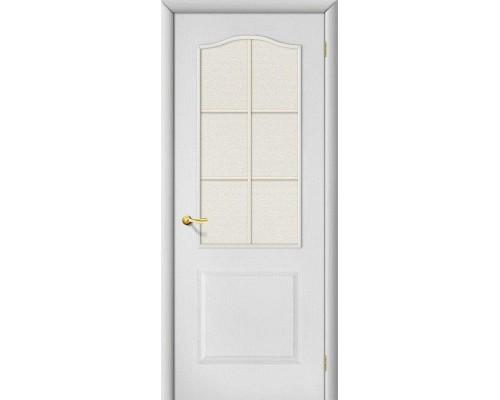 Дверь Палитра Л-23 Белый Хрусталик Браво, Bravo