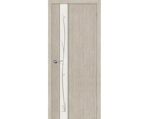 Дверь Глейс-1 Twig 3D Cappuccino Twig Браво, Bravo