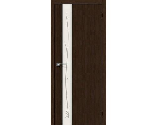 Дверь Глейс-1 Twig 3D Wenge Twig Браво, Bravo