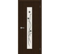 Дверь Тренд-14 3D Wenge Etude Браво, Bravo