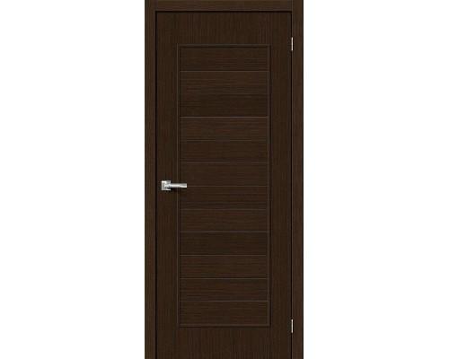 Дверь Тренд-21 3D Wenge Браво, Bravo +петли