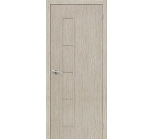 Дверь Тренд-3 3D Cappuccino Браво, Bravo