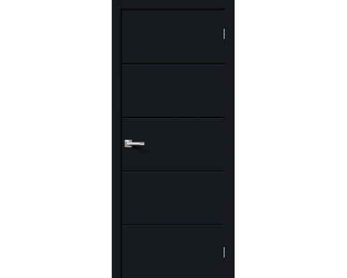 Дверь Граффити-1 Total Black Браво, Bravo