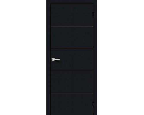 Дверь Граффити-2 Total Black Браво, Bravo