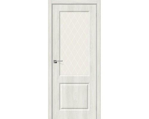 Дверь Скинни-13 Casablanca White Сrystal Браво, Bravo