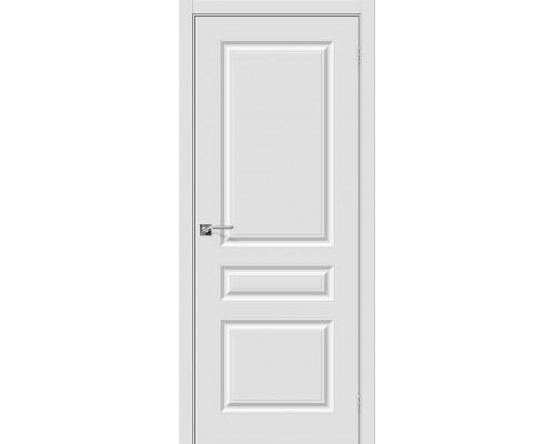 Дверь Скинни-14 П-23 Белый Браво, Bravo