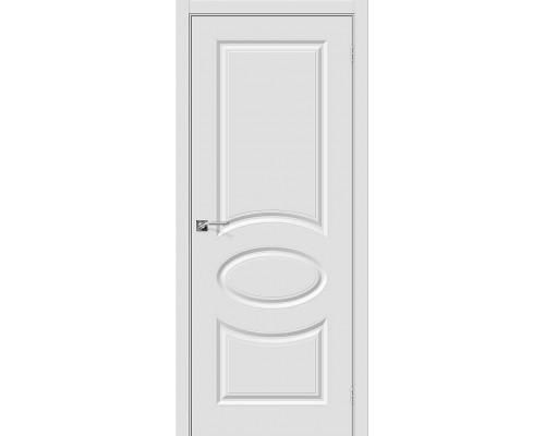 Дверь Скинни-20 П-23 Белый Браво, Bravo