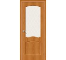 Дверь Альфа-2 Milano Vero White Сrystal Браво, Bravo +петли
