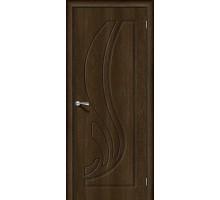 Дверь Лотос-1 Dark Barnwood Браво, Bravo +петли