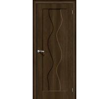 Дверь Вираж-1 Dark Barnwood Браво, Bravo +петли