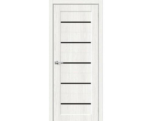 Дверь Мода-22 Black Line WhiteDreamline Браво, Bravo +петли