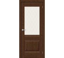 Дверь Прима-3 BrownDreamline White Сrystal Mr.Wood Браво, Bravo