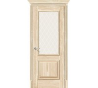 Дверь Классико-13 Без отделки White Сrystal ЭльПорта Браво, Bravo