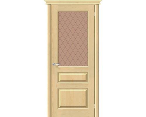 Дверь М5 Без отделки Кристалл Белорусские Двери Браво, Bravo +петли
