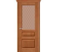 Дверь М5 Т-05 Светлый Лак Кристалл Белорусские Двери Браво, Bravo +петли