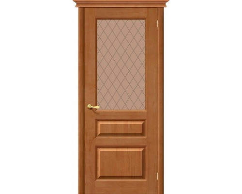 Дверь М5 Т-05 Светлый Лак Кристалл Браво, Bravo