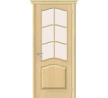 Дверь М7 Без отделки Сатинато Белорусские Двери Браво, Bravo