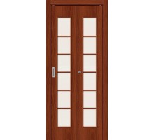 Дверь складная 2С Л-11 ИталОрех Сатинато Браво, Bravo