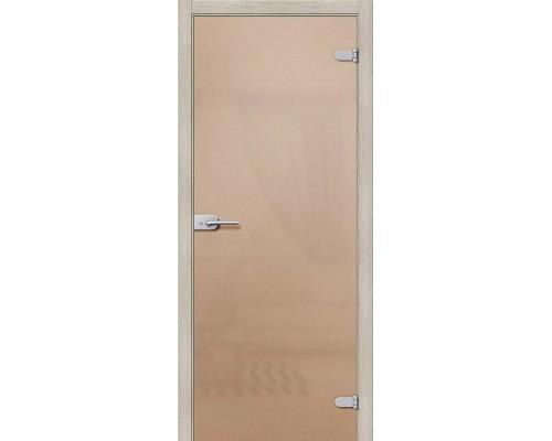 Дверь стеклянная Лайт Бронза Сатинато Браво, Bravo