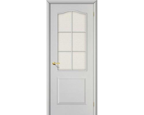 Дверь Классик Белый Грунт Хрусталик Браво, Bravo