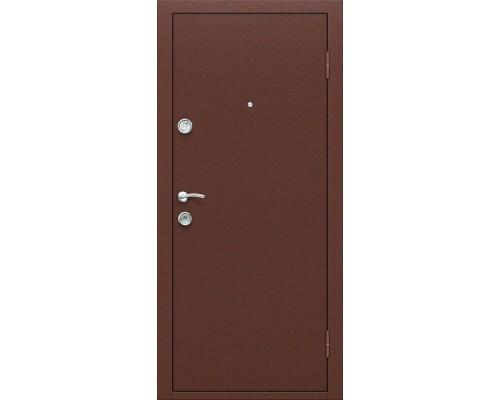 Дверь входная Optim D Йошкар Антик Медь/П-17 Золотистый Дуб