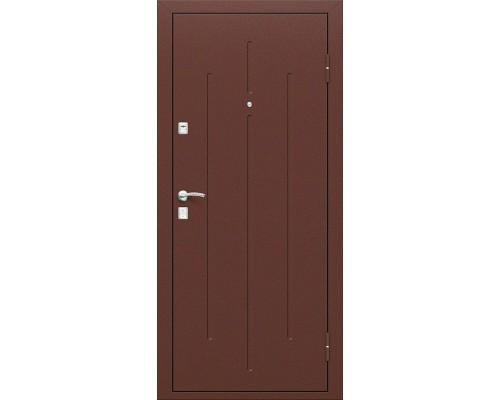 Дверь входная Optim D Стройгост 7-2 Антик Медь/М-11 ИталОрех