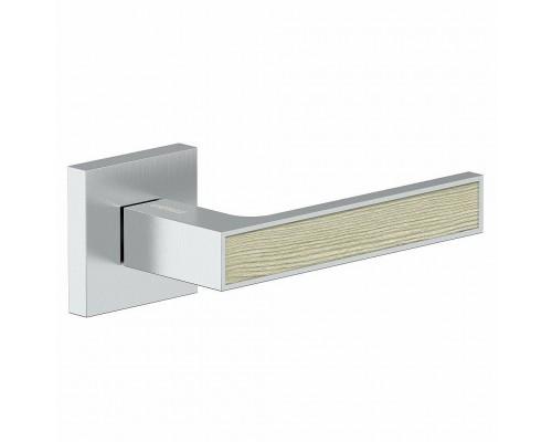 Дверная ручка Bravo Z-900 BС/CA БрашХром/Капучино