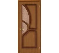Дверь Греция Ф-11 Орех Риф. Браво, Bravo +петли