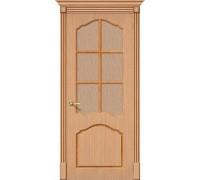Дверь Каролина Ф-01 Дуб Риф. Браво, Bravo +петли
