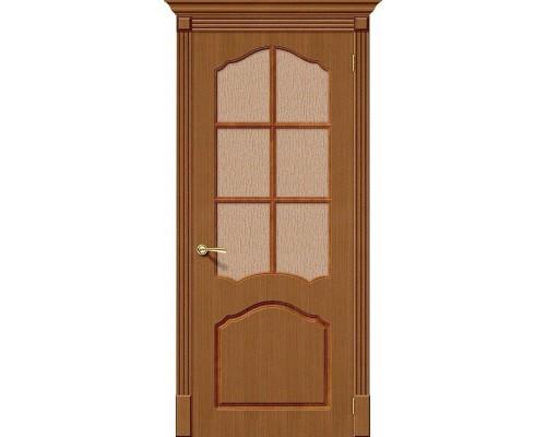Дверь Каролина Ф-11 Орех Риф. Браво, Bravo
