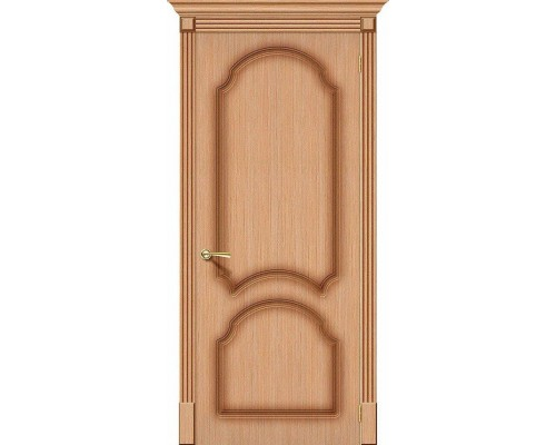 Дверь Соната Ф-01 Дуб Браво, Bravo +петли