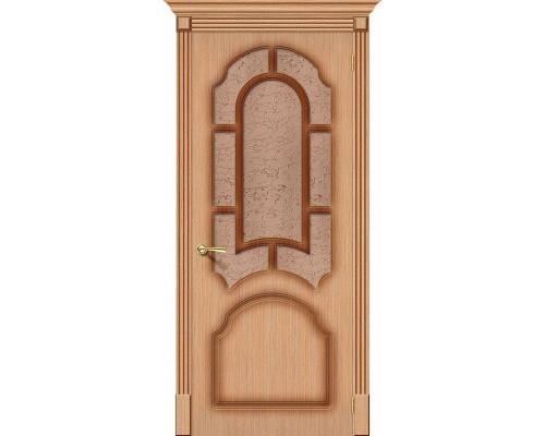 Дверь Соната Ф-01 Дуб Риф. Браво, Bravo +петли