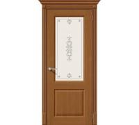 Дверь Статус-13 Ф-11 Орех Худ. Браво, Bravo +петли