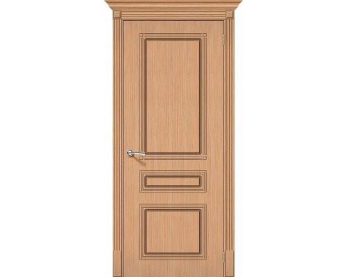Дверь Стиль Ф-01 Дуб Браво, Bravo +петли
